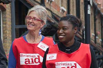 Christian Aid collector