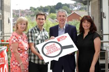 Christian Aid staff met with the Northern Ireland Finance Minister to discuss the Sourced campaign