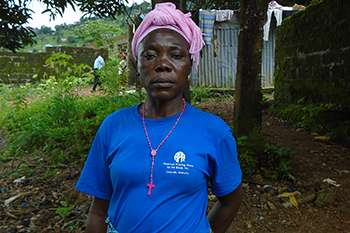Hawa M Kanu, a survivor of the 2017 Sierra Leone mudslide