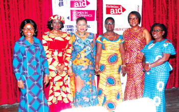 EC chairperson Charlotte Osei urges Ghanaian women to be confident