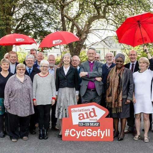 Supporters in Wales coming together for Christian Aid Week