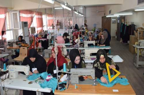Female Sewing Training in Kirkuk