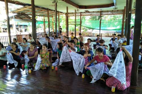 Myanmar first aid classes