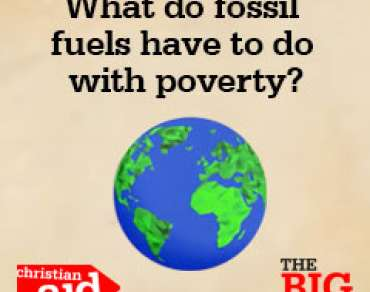 What do fossil fuels have to do with poverty?