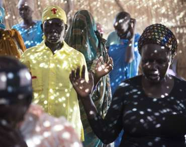 A congregation in South Sudan