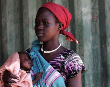 Woman and baby, Nigeria