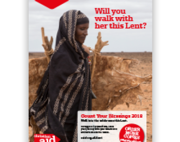 Count Your Blessings Lent calendar 2018 adult