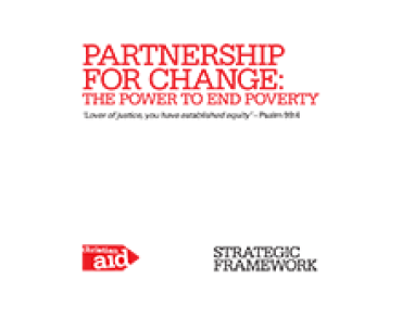 Partnership for change cover
