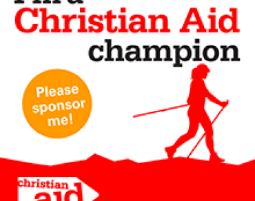 Trekking for Christian Aid