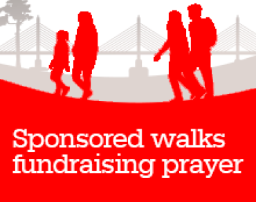 Sponsored Walks fundraising prayer thumbnail