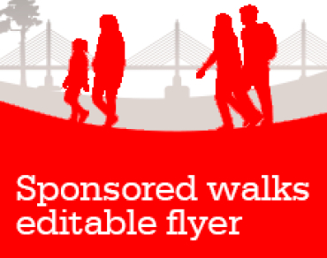 Sponsored Walks promo flyer thumbnail