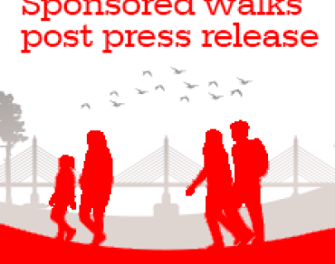 Sponsored Walks post-event press release thumbnail