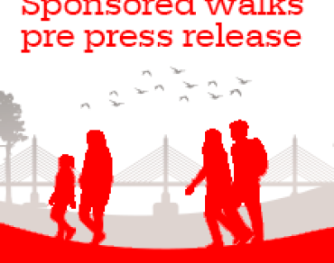 Sponsored Walks pre-press release