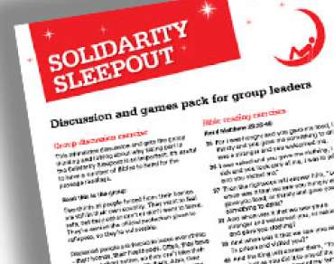Solidarity sleepout thumbnail
