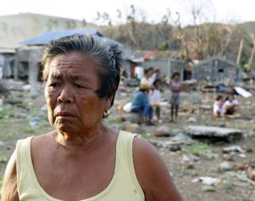Marina Acaylan in Iliolo province, Philippines after Haiyan