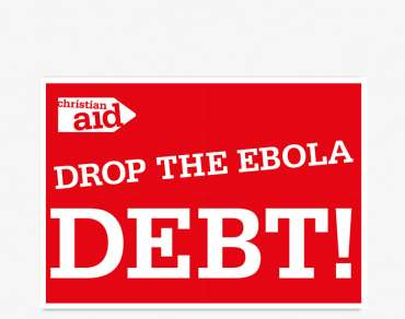 Drop the ebola debt