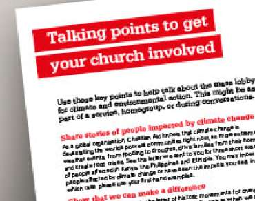 Thumbnail image of church talking points document