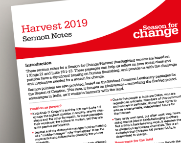 Harvest 2019 Sermon Notes thumbnail