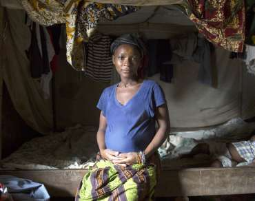 Jebbeh Konneh at home in Sierra Leone - Christian Aid