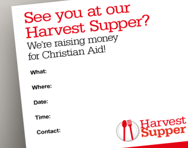 Harvest supper poster thumbnail