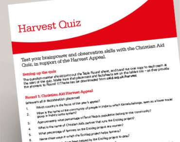 Harvest supper quiz thumbnail