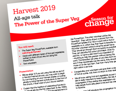 Harvest 2019 all age talk thumbnail