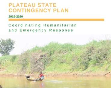 Plateau State Contingency Plan 2019-20 report cover