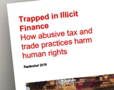Trapped in Illicit Finance report thumbnail