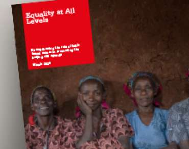 Snapshot of Equality at All Levels report.