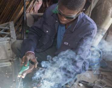 Welding as part of the GEOP project