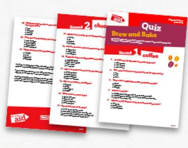Big Bake Quiz Paper