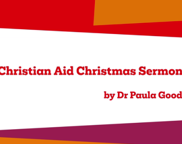 Christmas sermon by Paula