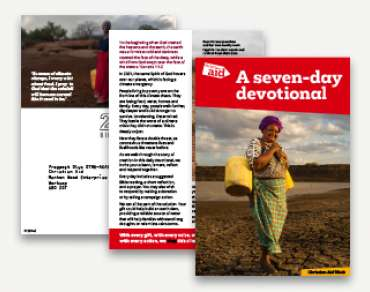 Christian Aid Week Devotional