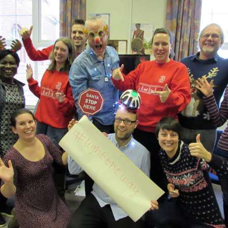 Christian Aid East Midlands team