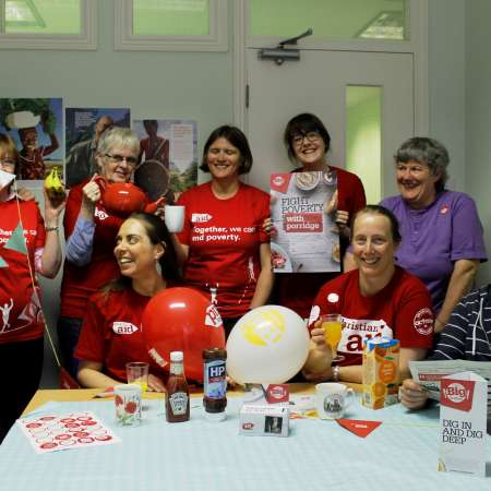 Christian Aid Yorkshire team