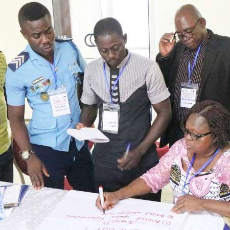 SMS anti-corruption training with STAR-Ghana