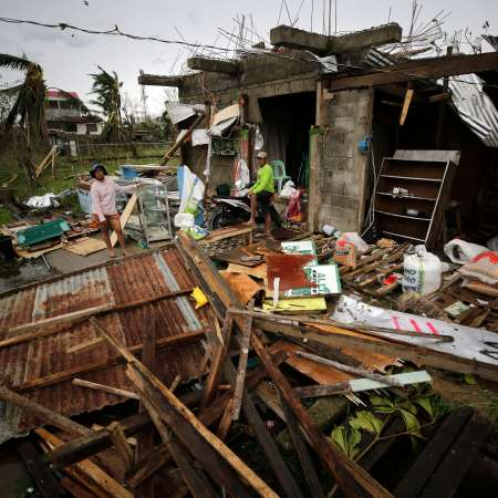 Destruction caused by Typhoon Mangkhut in the Philippines