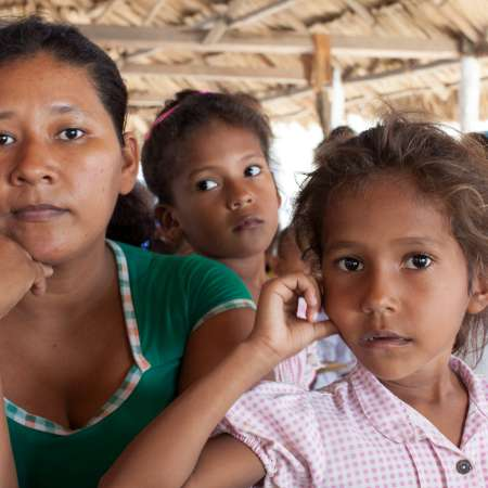 Catalina and her daughter in Colombia Christian Aid