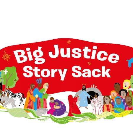 Big Justice Story Sack Cover