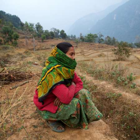 The fields of Gorkha in Nepal - Christian Aid