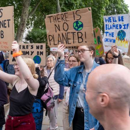 London: The Time is Now mass lobby supporter event on 26 June 2019